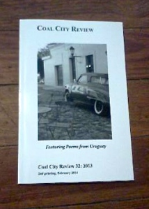 Latest issue featuring poems from Uruguay
